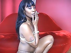 Beauty Dior gets a cock inside her ass