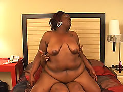 Pussy licking fat black lesbos lick and grind their holes