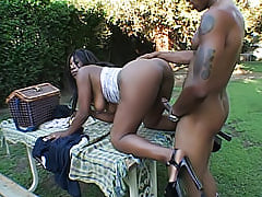 Whatever position this black girl takes it, she makes sure to get that cock deep inside of her black pussy